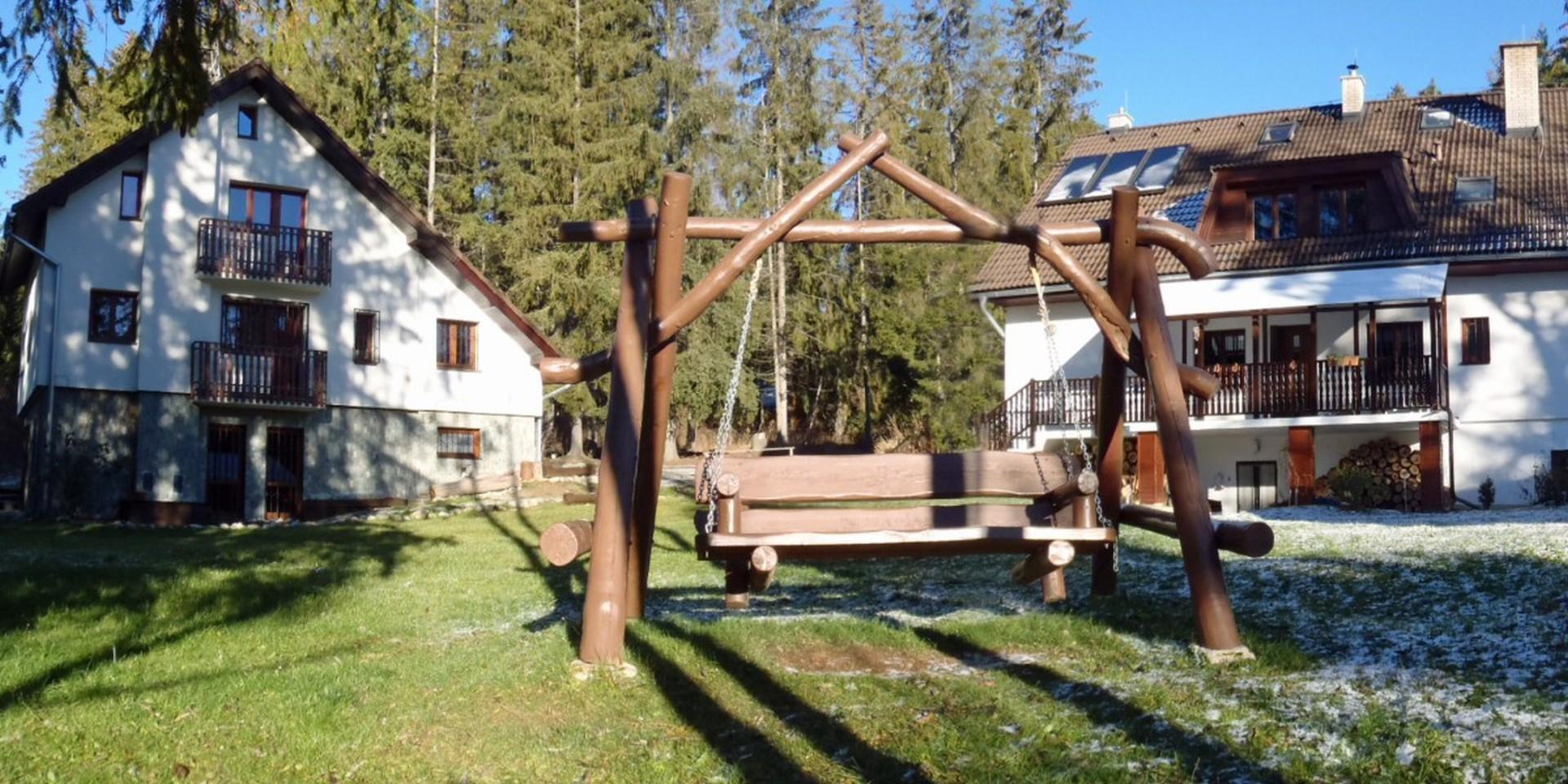 Ubytovanie v tatranskom lese, neďaleko zubačky